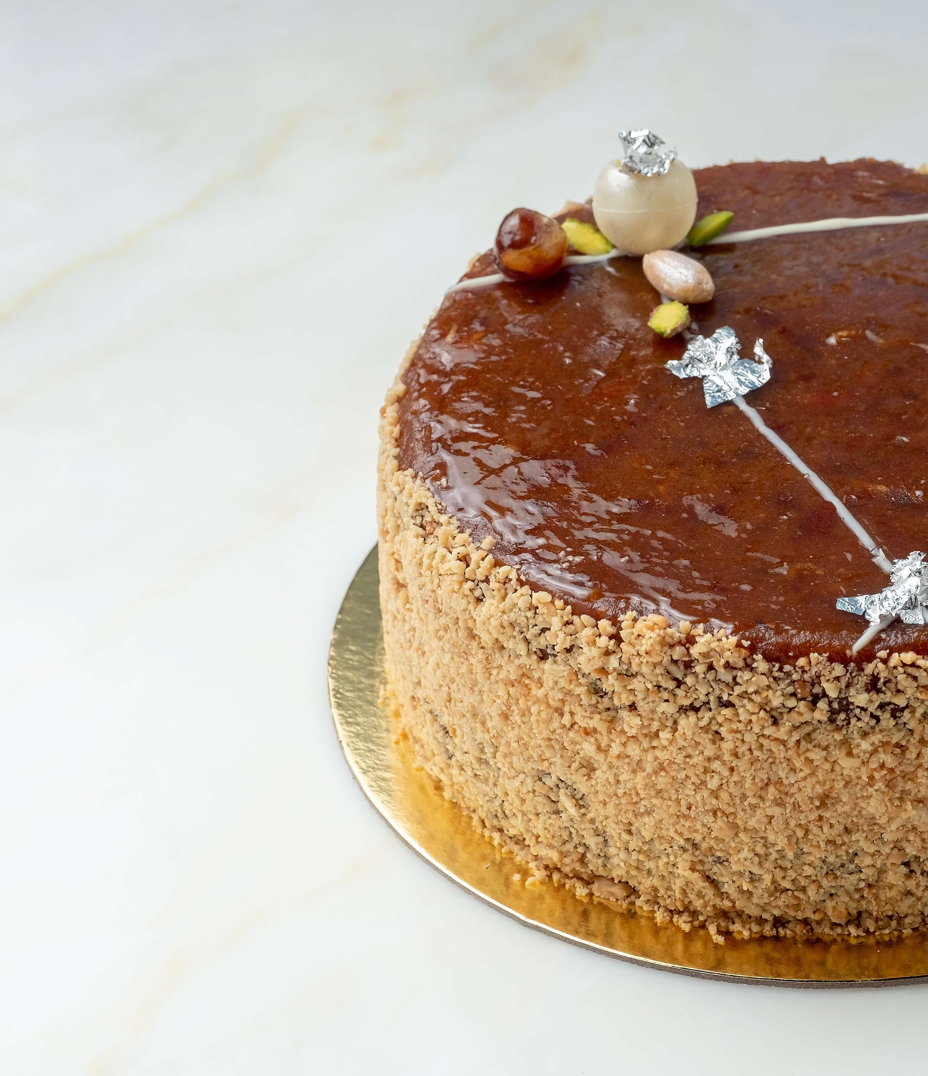 Dates and Peanut Butter Cake